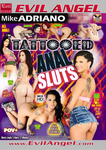 Tattooed Anal Sluts Dvd Cover