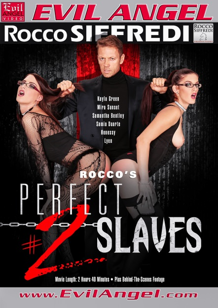 Rocco's Perfect Slaves #02 Dvd Cover