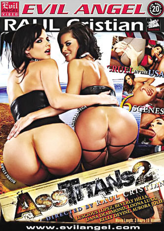 Ass Titans #02 DVD Cover