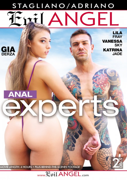 Anal Experts DVD Cover