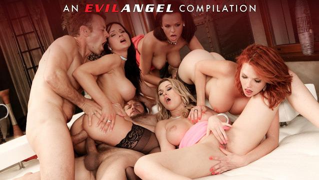 ROUGH DOUBLE ANAL Compilation von Evil Angel