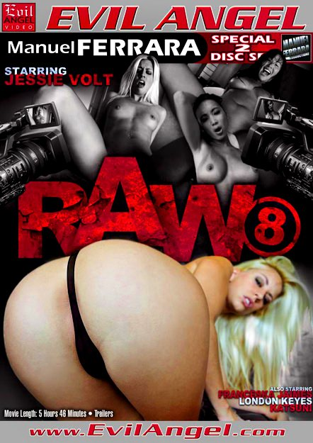 Raw #08 Dvd Cover
