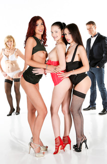 Anie Darling, Sasha Rose, Shona River & Zsu